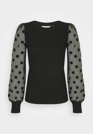 PAULA - Long sleeved top - noir