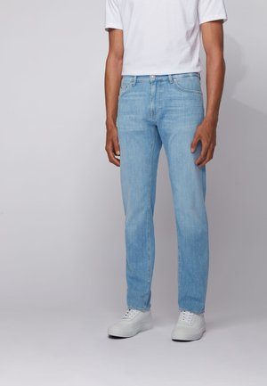 Straight leg jeans - turquoise