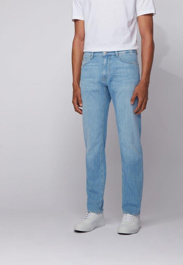 Jean droit - turquoise