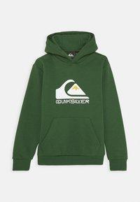 Quiksilver - BIG LOGO HOOD YOUTH - Hoodie - greener pastures - 0