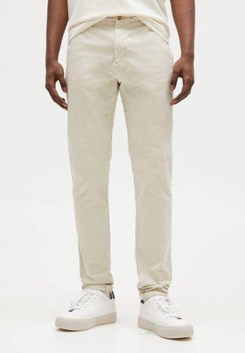 SLIM FIT - Chinos - mottled beige