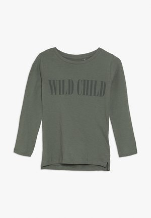 PENELOPE LONG SLEEVE TEE - Long sleeved top - silver sage