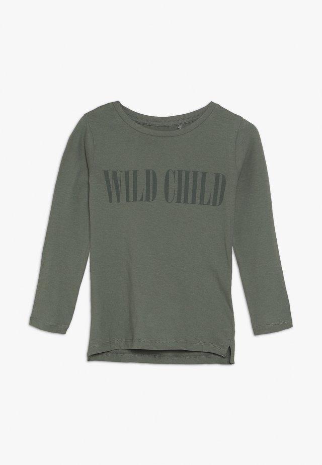 PENELOPE LONG SLEEVE TEE - Langærmede T-shirts - silver sage