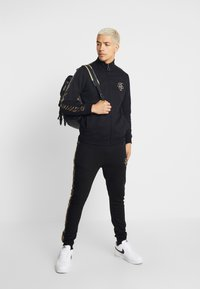 Brave Soul - HELIX - Tracksuit bottoms - black - 1