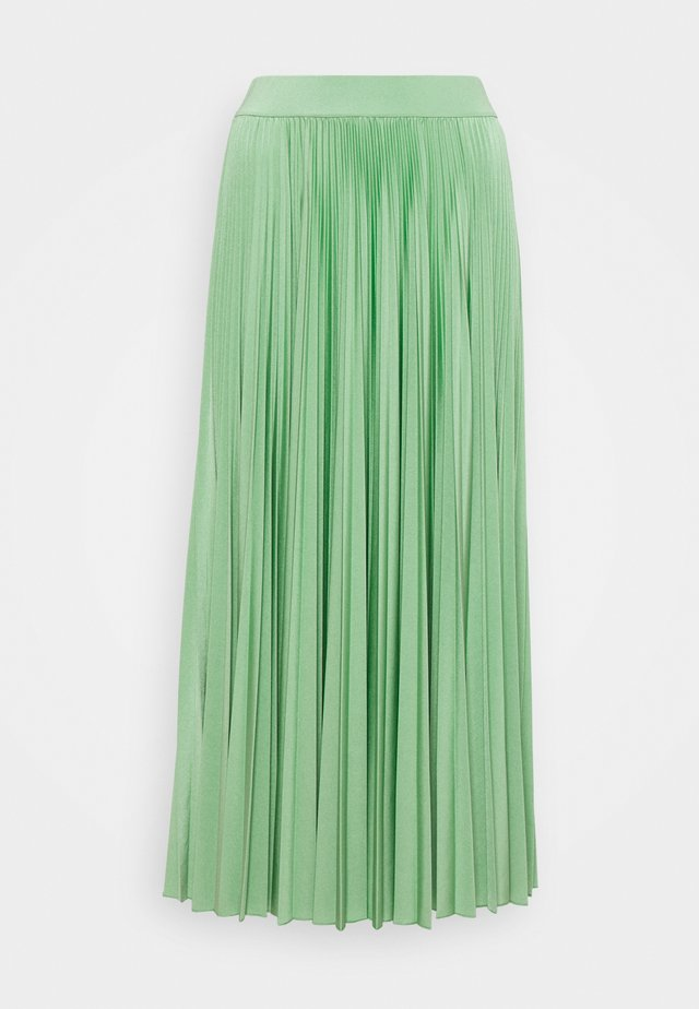TRINCEA - Veckad kjol - verde