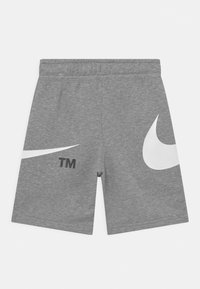 Nike Sportswear - Short - dark grey heather/white - 1
