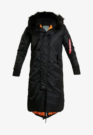 LONG FISHTAIL  - Parka - black