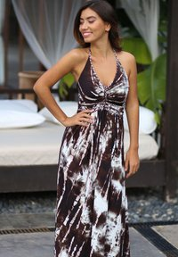 CHIC by Lirette - HALTER JURK SAMOA - Maxi dress - brown - 1