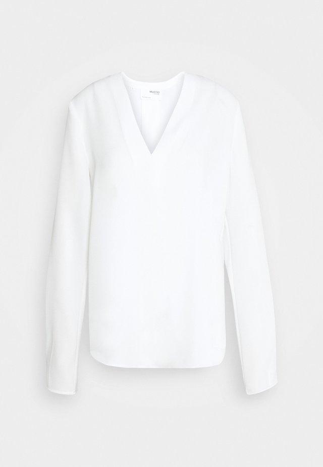 SLFLUNA  - Blouse - white
