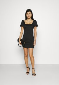 Guess - SASKIA DRESS - Jersey dress - jet black - 1