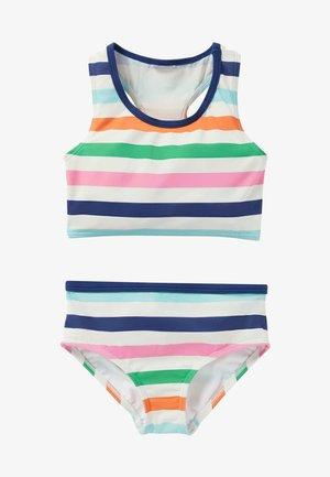 SET  - Bikini - mottled light blue