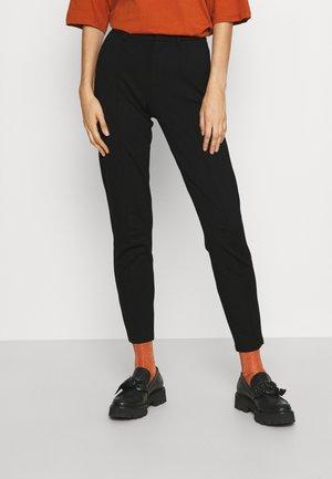 ONLPOPTRASH LIFE TAILORED  - Spodnie materiałowe - black