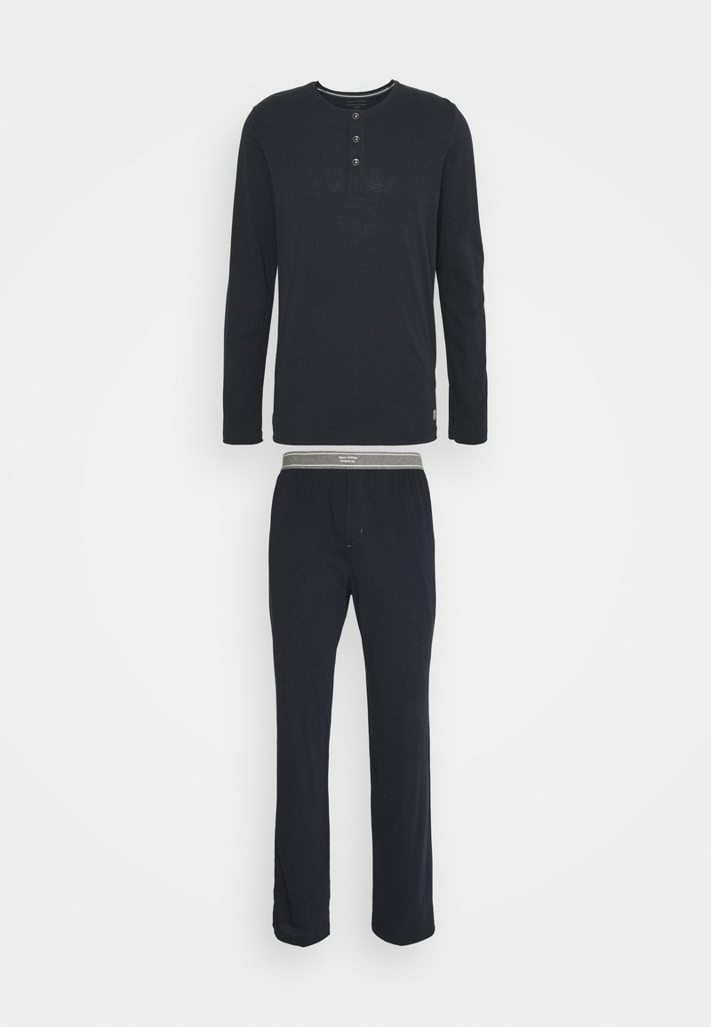 Marc O'Polo - LOUNGESET - Pyjama bottoms - blue