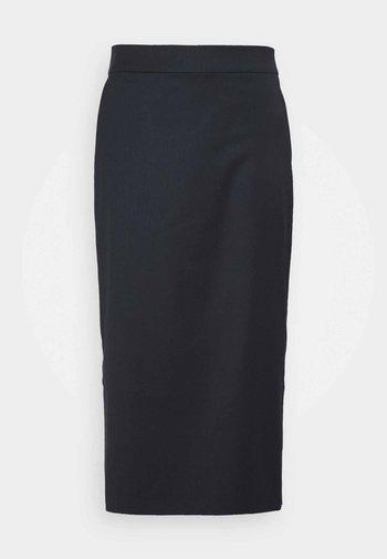 ANICE - Pencil skirt - navy blue