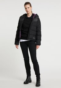 PYUA - Ski jacket - black - 1