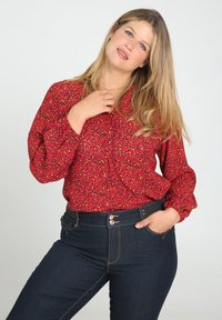 Paprika - MIT TIERFELL-DRUCK - Blouse - red - 0