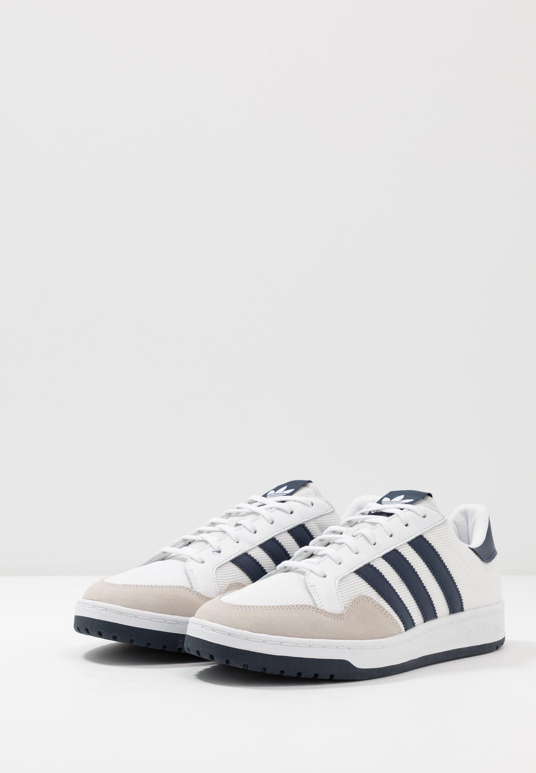 adidas Originals TEAM COURT Sneaker low footwear white/collegiate navy/weiß