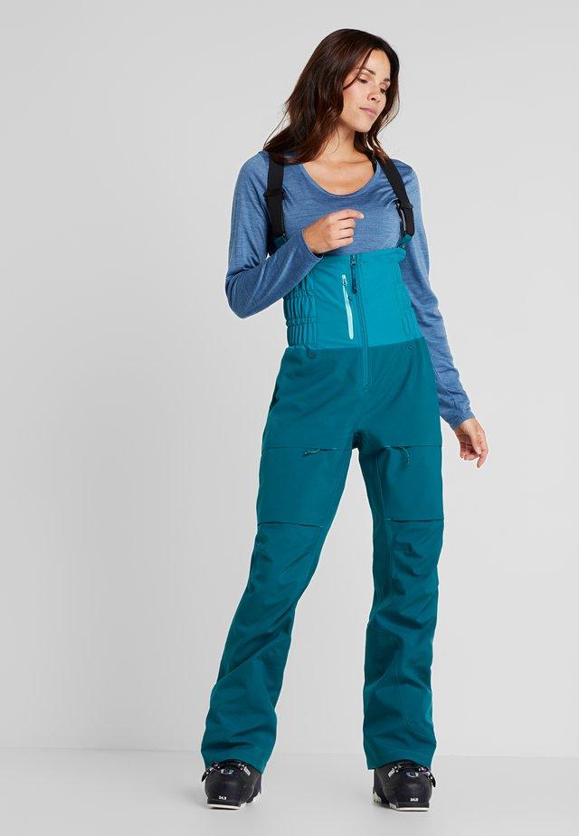 DROP - Pantalón de nieve - petrol blue