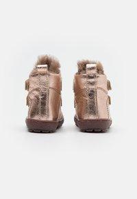 Bisgaard - STORM - Vysoká obuv - rose gold - 2