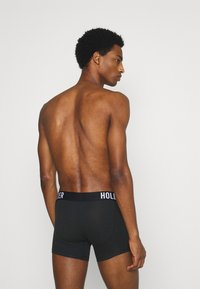 Hollister Co. - CORE SOLID 3 PACK - Panty - black - 1