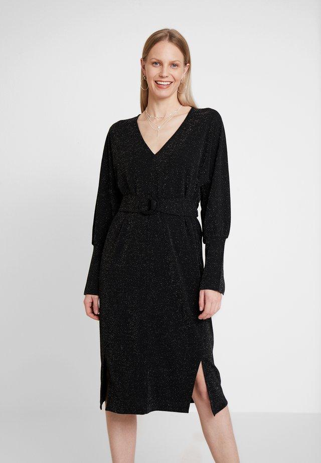 OSIA DRESS - Vestito elegante - meteorite black