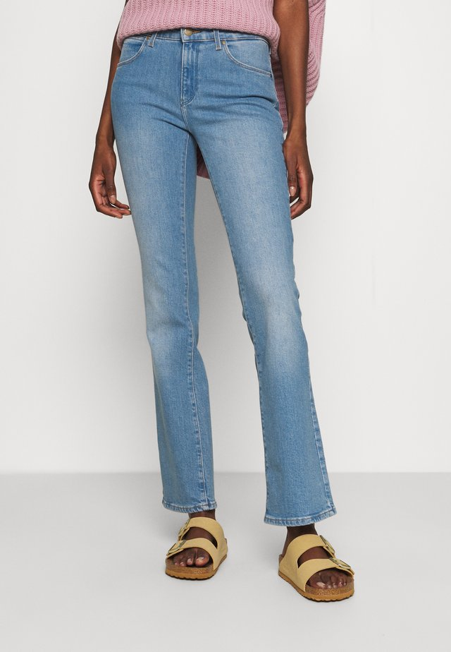 BOOTCUT - Jean bootcut - light blue denim
