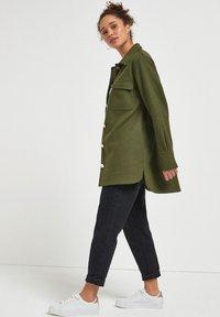 Next - Short coat - khaki - 1