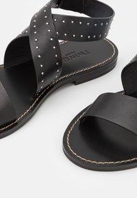 TWINSET - BASSO  - Sandals - nero - 6