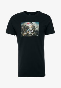 Mister Tee - WALK IT TEE - Print T-shirt - black - 3