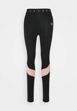 ALLURE - Medias - black/pink