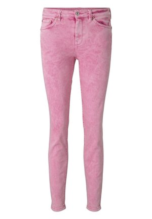 JEANSHOSEN NELA EXTRA SKINNY JEANS PASTELL-WASHED-LOOK - Jeans Skinny Fit - washed pink