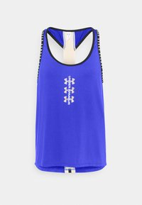 Under Armour - KNOCKOUT TANK - Sports shirt - emotion blue - 4