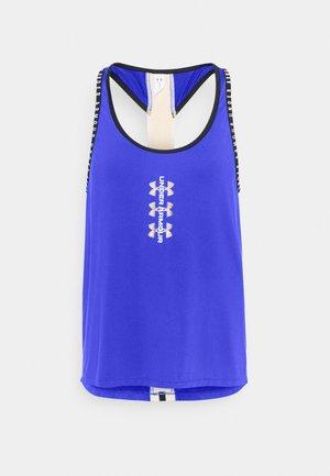 KNOCKOUT TANK - Koszulka sportowa - emotion blue