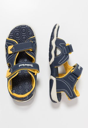 ADVENTURE SEEKER 2 STRAP - Walking sandals - navy/yellow