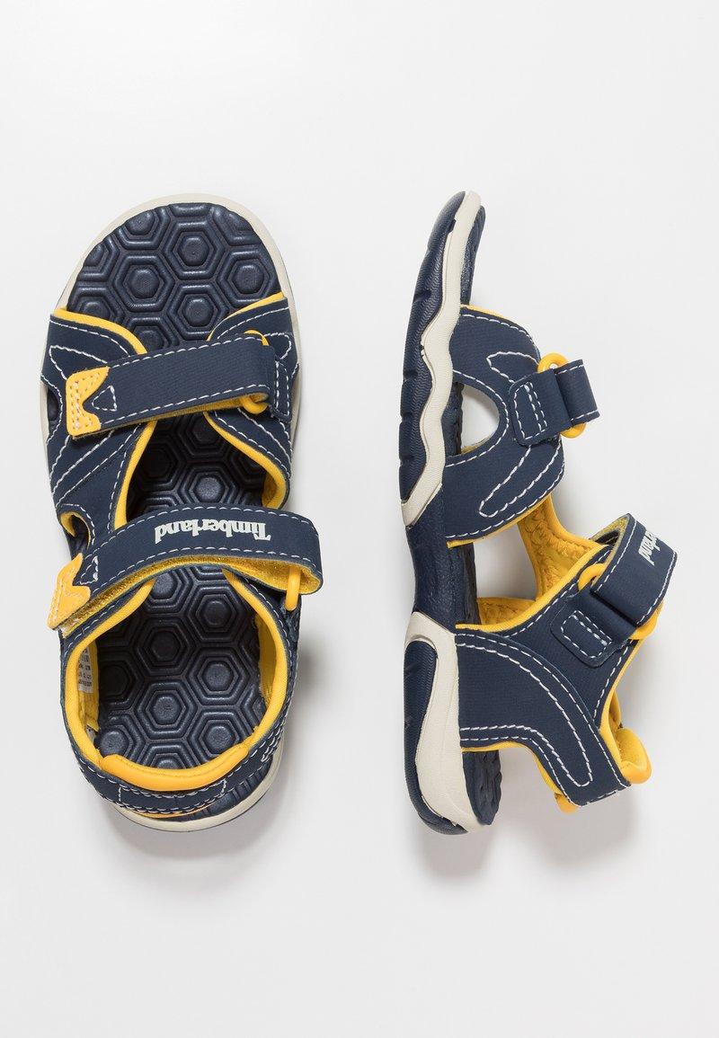Timberland - ADVENTURE SEEKER 2 STRAP - Walking sandals - navy/yellow