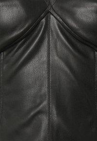 Missguided - DOUBLE CUT OUT MINI DRESS - Cocktail dress / Party dress - black - 6