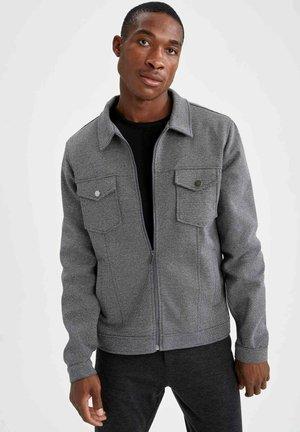 REGULAR FIT  - Light jacket - grey