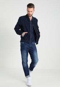 G-Star - 3301 STRAIGHT - Straight leg jeans - accel stretch denim - 1