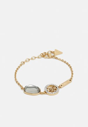 CHAIN THREE CHARMS - Armbånd - gold-coloured