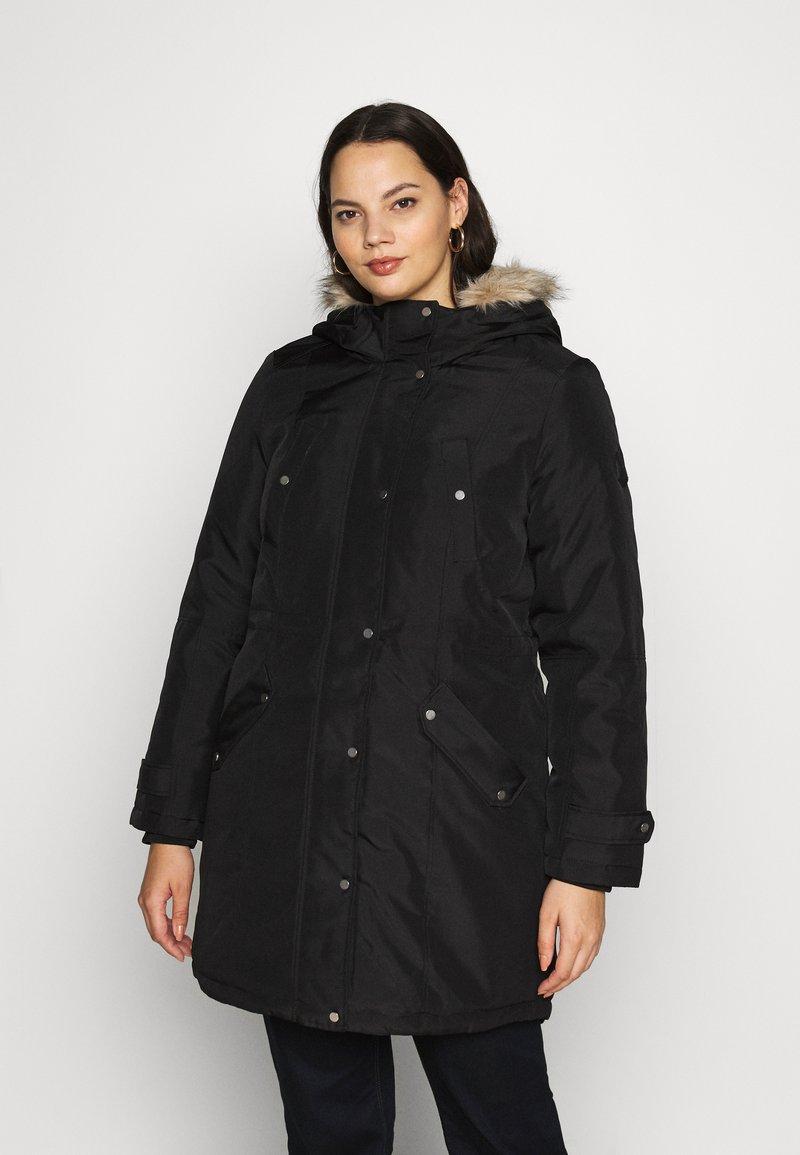 Vero Moda Curve - VMTROK - Winter coat - black