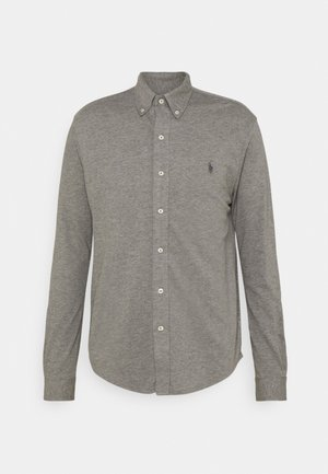 LONG SLEEVE - Shirt - metallic grey heather
