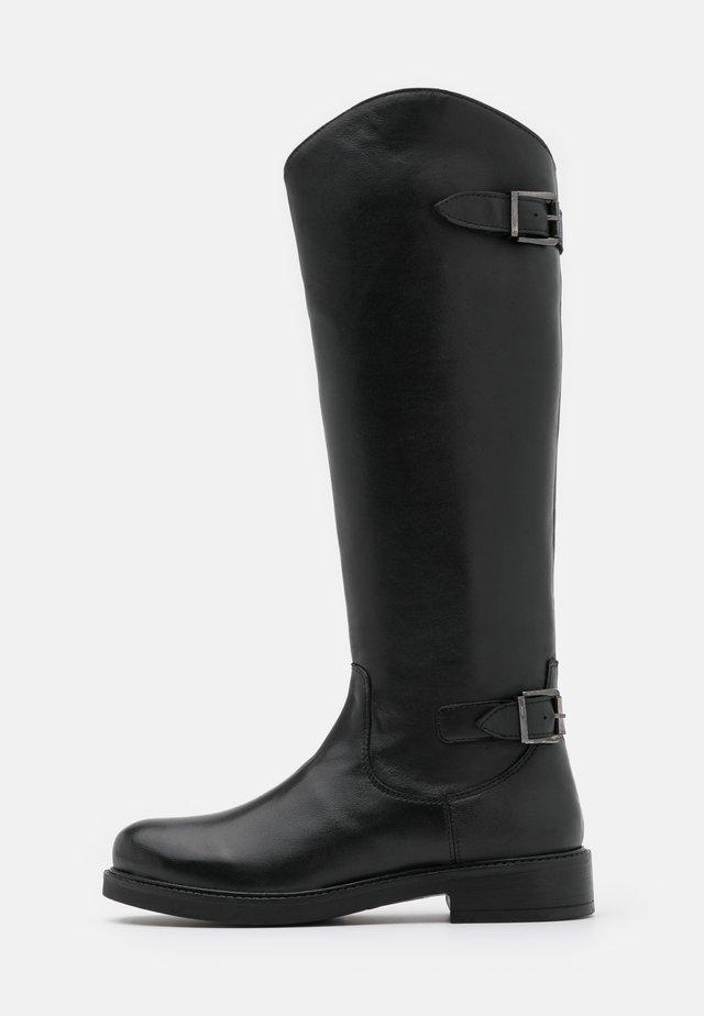 LOLA - Vysoká obuv - noir