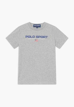 Print T-shirt - andover heather