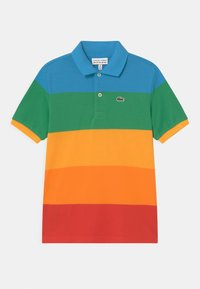 Lacoste - LACOSTE X POLAROID  - Polo shirt - fiji/malachite/gypsum/orpiment/corrida - 0