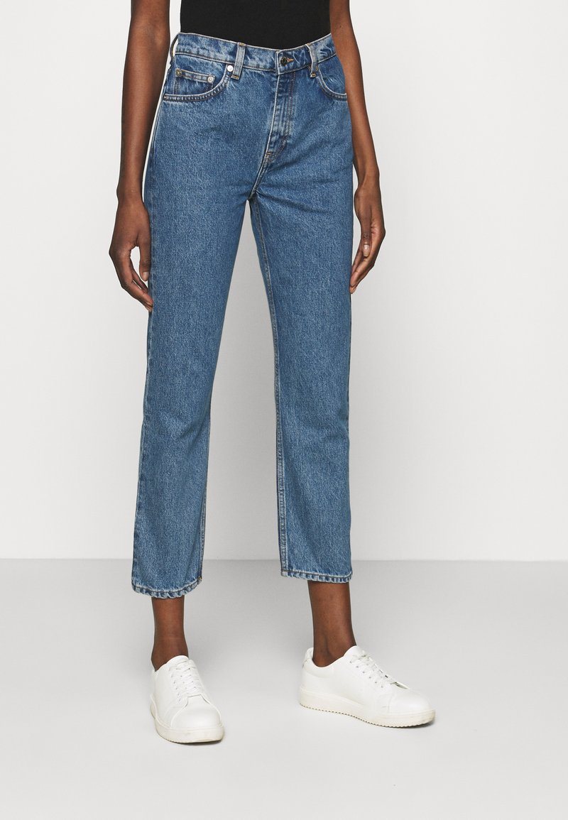 ARKET - Straight leg jeans - mid blue