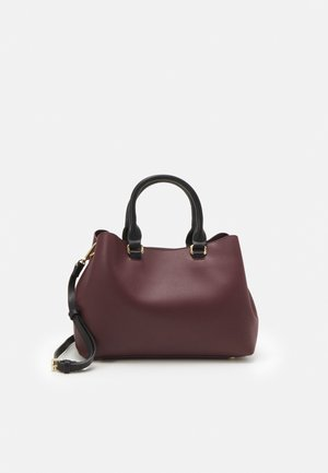 TOTE BAG CROWN - Handtas - burgundy
