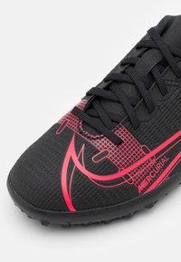 Nike Performance - JR MERCURIAL VAPOR 14 CLUB TF UNISEX - Kopačky na umělý trávník - black/cyber - 5