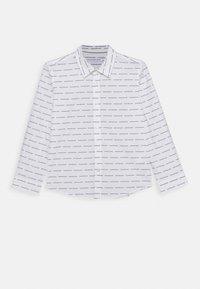 Calvin Klein Jeans - LOGO ALL OVER - Shirt - white - 0