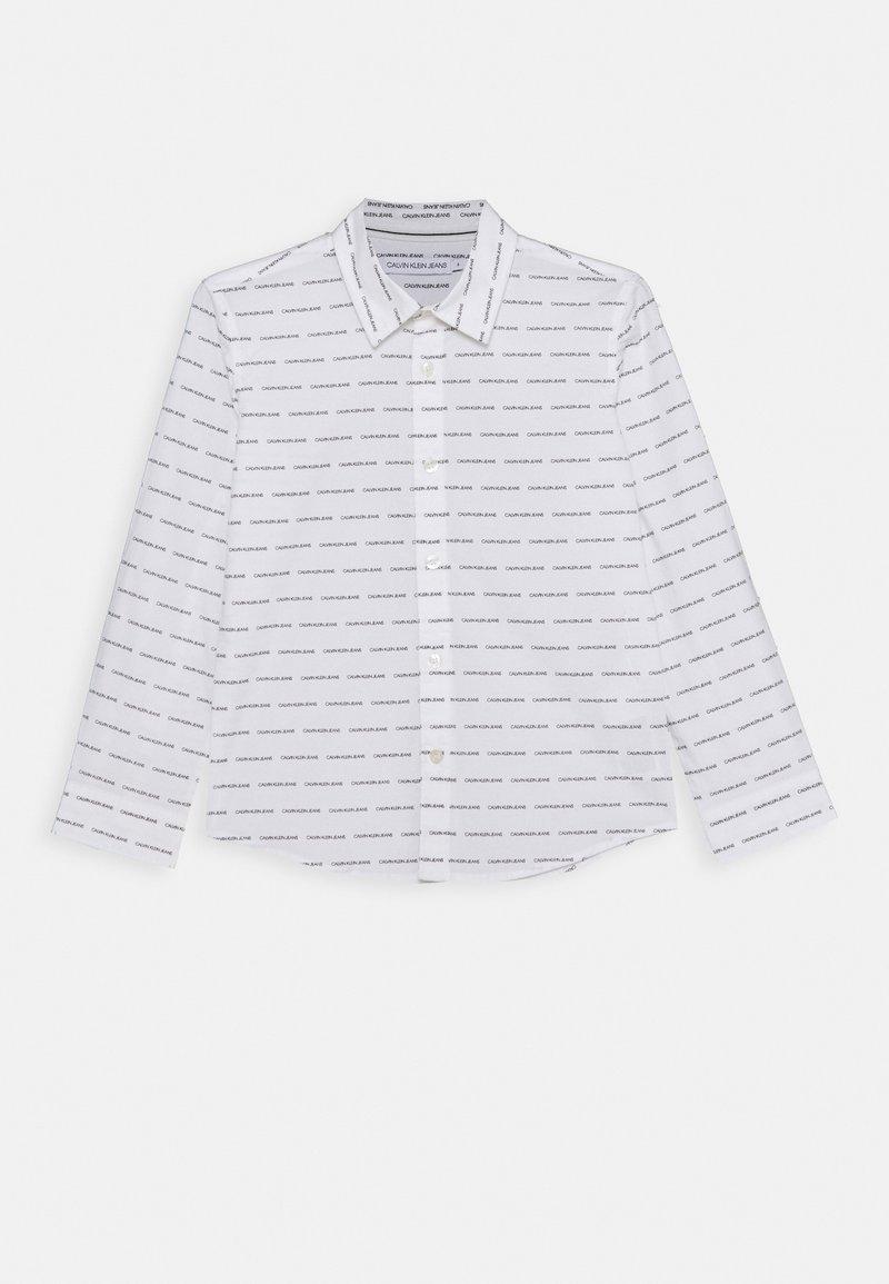 Calvin Klein Jeans - LOGO ALL OVER - Shirt - white