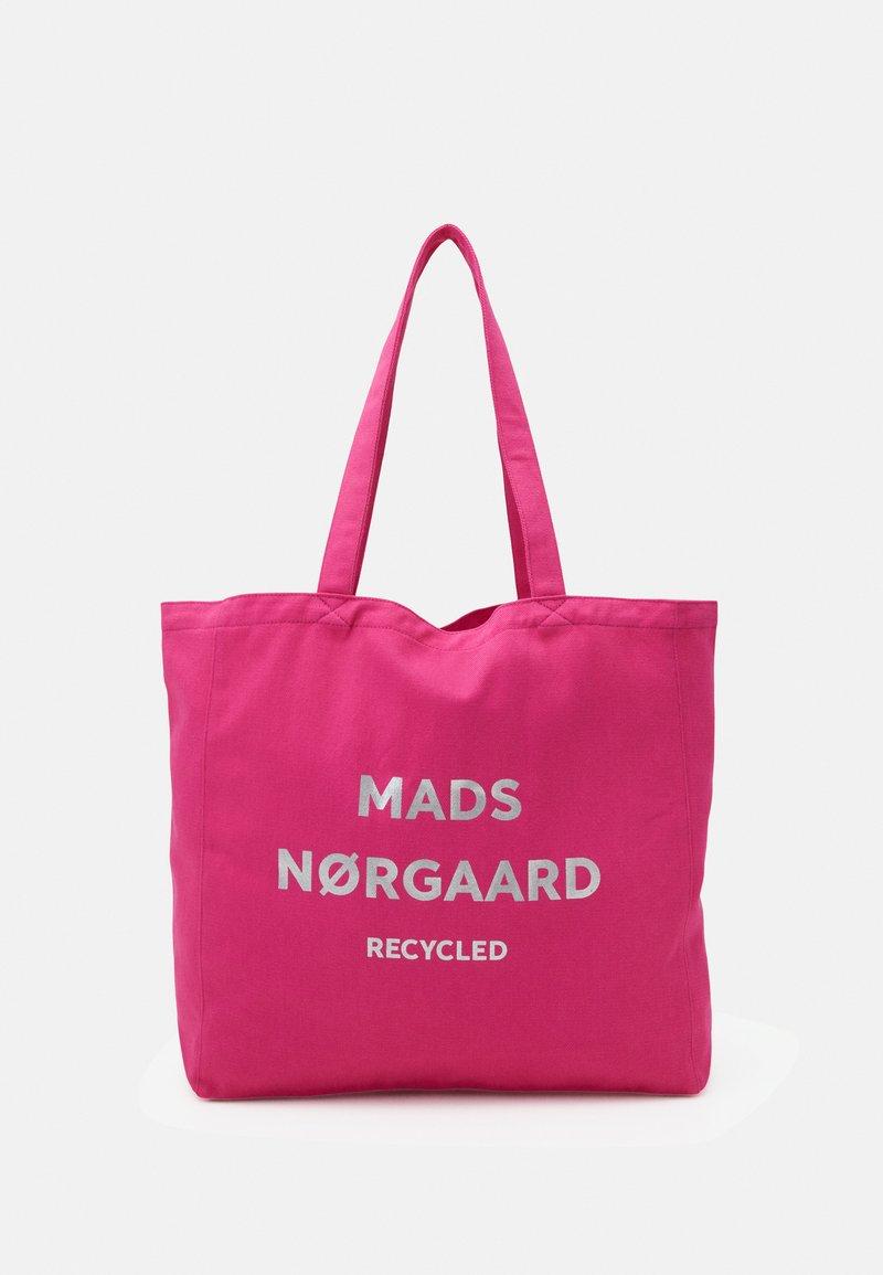 Mads Nørgaard - BOUTIQUE ATHENE - Shopping Bag - shocking pink/silver